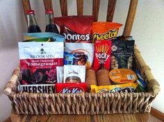 Preparing for House Guests, houseguest baskets