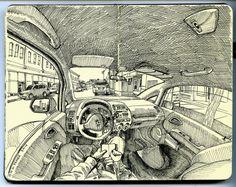 car-sketchbook