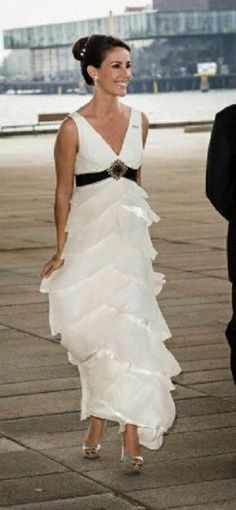 Princess Marie of Denmark at the Opera House in Copenhagen on the occasion of the celebration of the 200th anniversary of Norway's constitution 2014
