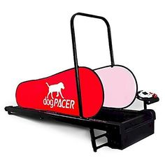dogPACER Mini-Treadmill Designed for Dogs up to 55 Pounds with FREE Custom Bone Shaped Dog Tag and E-Book