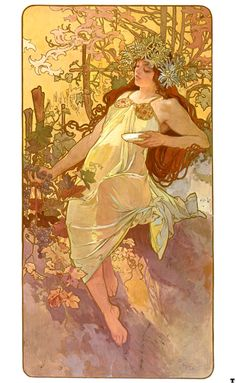 mucha flowers - Google Search