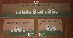 24 Personalized Family Tree style primitive...How cute!