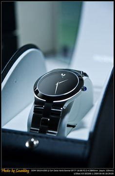 Movado Juro Meseum Dial Men's Watch by Swanking, via Flickr Johnston http://johnstonmurphymensclothing.gr8.com More Mens Fashion Johnston & Murphy http://johnstonmurphy.gr8.com