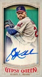 2016 Topps Gypsy Queen - Autographs Mini #GMA-CK Corey Kluber Front