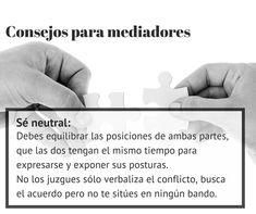 #Consejos para #mediadores: No juzgues a tus clientes. ¡Neutralidad ante todo!  http://www.cedeco.net/mediacion/