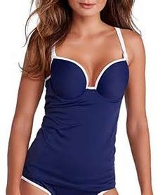 Looking for Freya The Navy Deco Underwire Contour Tankini Top ? Check out our picks for the Freya The Navy Deco Underwire Contour Tankini Top from the popular stores - all in one. Tankini Top, Bikini Tops, Athletic Swimwear, Plus Size Bikini, Ankle Strap Shoes, One Piece For Women, Trends, Tank Top Shirt, Woman Outfits