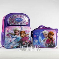 Toddler Backpacks · Jelfis.com - Disney Frozen Elsa and Anna Purple Girls  14