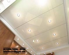 PVC Stretch ceiling installation ideas, designs, images