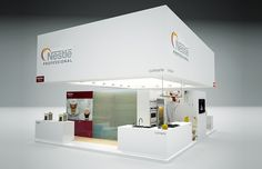 "Exhibition Stand for ""Nestle"" designed by GM design group #exhibitionstands #exhibition #stand #booth #gmdesigngroup #gmdesign #gm #design"