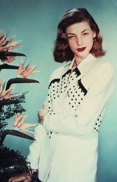 Lauren Bacall...Uploaded by www.1stand2ndtimearound.etsy.com