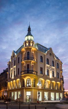 Amazing Oradea #Romania #architecture #beautiful