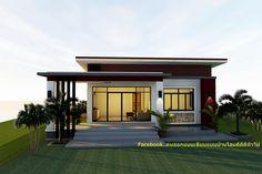 Modern Bungalow House Design, Minimal House Design, Modern Small House Design, Home Modern, Modern House Plans, House Construction Plan, Victorian House Interiors, Beautiful House Plans, House Gate Design