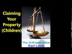 080 - Karl Lentz -  Claiming Your Property (Children)