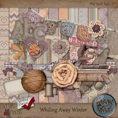 Whiling Away Winter [KS_WAWinter] - $5.99 : Scraps N Pieces Store