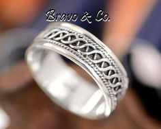 SIZE 10 Solid Sterling Silver Wedding Engagement Promise Thumb Men Ring R-208