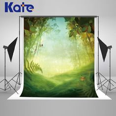 29.99$  Buy here - http://aliwuc.shopchina.info/go.php?t=32801280397 - Kate Spring Photography Backdrops Scenic Photography Backdrops Green Forest Background Large Size Seamless Photo For Studio  #magazineonlinebeautiful