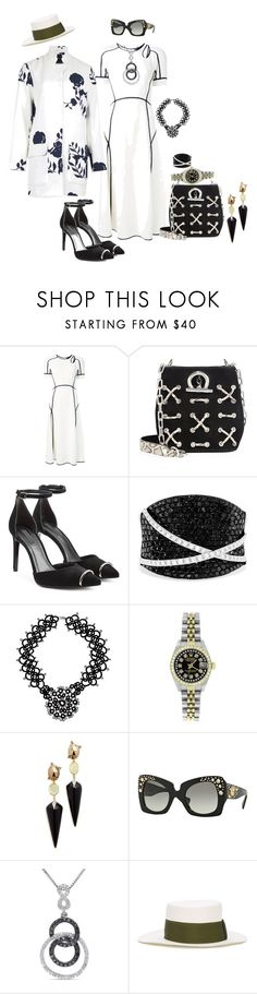 """We have no issues here at the moment"" by blujay1126 ❤ liked on Polyvore featuring Alexander Wang, Effy Jewelry, NOVICA, B.Young, Rolex, Alexis Bittar, Versace, Miadora and Sensi Studio"