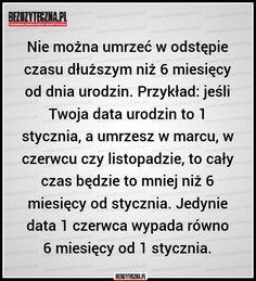 Nie można umrzeć w odstępie… » Bezuzyteczna.pl- Codzienna dawka wiedzy bezuzytecznej