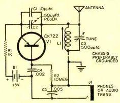 Transistor Radio Circuit (With images) | Transistor radio ...