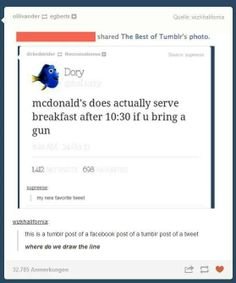 This is a pin of a facebook post of a tumblr post of a facebook post of a tumblr post... yup let that sink in haha