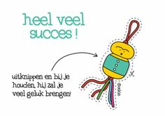 wenst alle leerlingen heel veel succes met de examens!