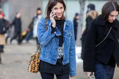 The Latest Street Style Photos From New York Fashion Week via @WhoWhatWearUK