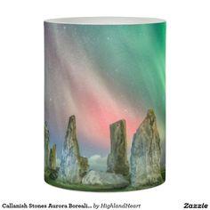 Callanish Stones Aurora Borealis Flameless Candle