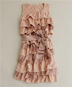 Love this for a flower girl dress!