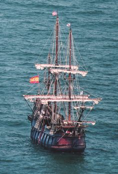 El Galeón is an authentic wooden replica of a Spanish galleon, constructed and operated as ships were over 500 years ago (photo courtesy of Floridashistoriccoast.com)