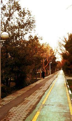 بلوارکشاورز -تهران Photo by: Maryam Azadeh The Blvd of broken dreams ;)