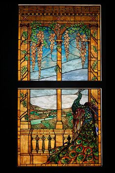 Tiffany Window, Montreal Museum of Fine Arts