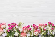 HD wallpaper: Flowers, Background, Roses, Eustoma
