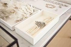 Pretty accessories display for pics! (Frame, earrings, bible, rings, necklace, bracelet, hairpiece, flowers, candle)
