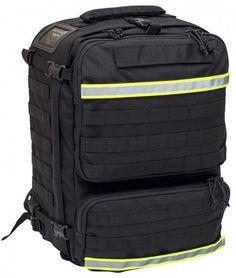 Elite Bags PARAMED´S EVO Notfallrucksack schwarz Individuell erweiterbarer Notfallruckack mit MOLLE-System für die professionelle Notfallversorgung. Klassische Aufteilung des...