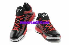 finest selection ac591 28dbe Jordan CP3.VIX Chris Paul Shoes Black Red Cheap NBA Basketball Shoes  Red