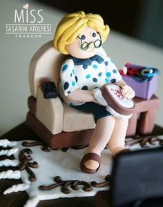 Sweet Grandma - Cake by ozlem sener mumcu