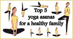 Top 5 yoga asanas for a healthy family – International Yoga Day 2015: http://thechampatree.in/2015/06/22/international-yoga-day-2015/