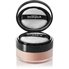 Sisley - Paris Phyto Loose Face Powder - 4 Sable ($95) ❤ liked on Polyvore featuring beauty products, makeup, face makeup, face powder, beige, loose face powder and sisley