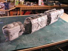 RC Sci Fi: Old Spaceship model Part3 (Sony Spaceship)