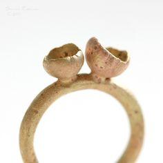 Organic Ring.  Brass. Like it.