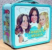 Charlie's Angels lunchbox and thermos! My name is Kelly and I had long dark hair too. I wanted to be her...