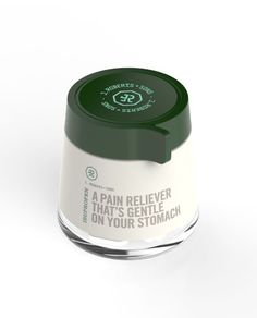 pain reliever with cool packaging from this new brand J. Roberts & Sons, they have a fun take on health & wellness products.