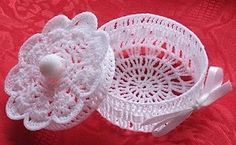 lace box, Free pattern
