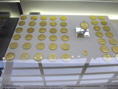 Gold coins from the Mercedes