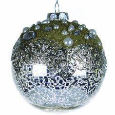 Round Glitter Ball Ornament http://shop.crackerbarrel.com/Round-Glitter-Ball-Ornament/dp/B00EKQRG70