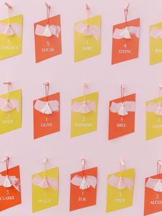 Colour-Blocking Wedding Ideas | One Fab Day Wedding Mood Board, Wedding Menu, Wedding Favours, Wedding Stationery, Wedding Trends, Wedding Ideas, Table Names, Teal And Pink, Martha Stewart Weddings