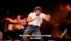 "Bruce Springsteen ""Dancing In The Dark"" sub español"