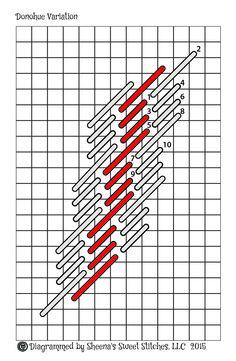 Donohue Stitch Variation 2