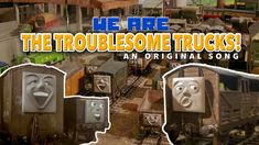 We Are The Troublesome Trucks - An Original Song Thomas And Friends, Original Song, Trucks, Album, Songs, The Originals, Thomas The Train, Truck, Song Books