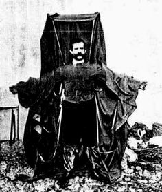 Franz Reichelt, the man who wanted to fly off the Eiffel tower